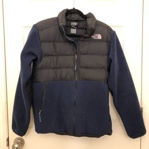 Boys North Face Fleece Jacket (XL)